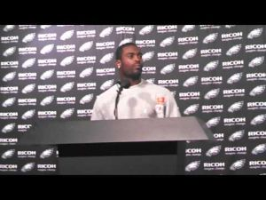 Michael Vick postgame interview after Carolina preseason game
