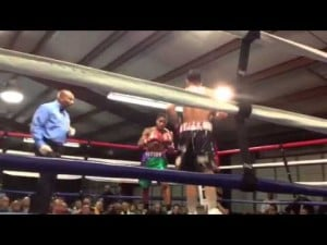 Boxing in Millville on Nov. 10, 2012