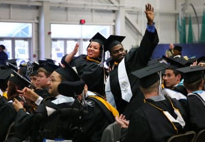 Stockton Graduation: Sunday May 11 2014 Stockton College Graduation, morning session. (The Press of Atlantic City / Ben Fogletto) - Ben Fogletto