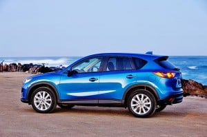2013 Mazda CX-5 Crossover SUV Gets 35 MPG