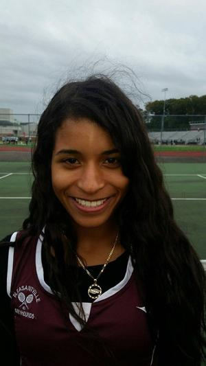 Girls tennis MVP: Leslie Deleon, Pleasantville