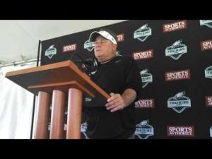 Chip Kelly talks about first day of Eagles training camp