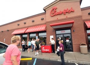 Chik-fil-A protest