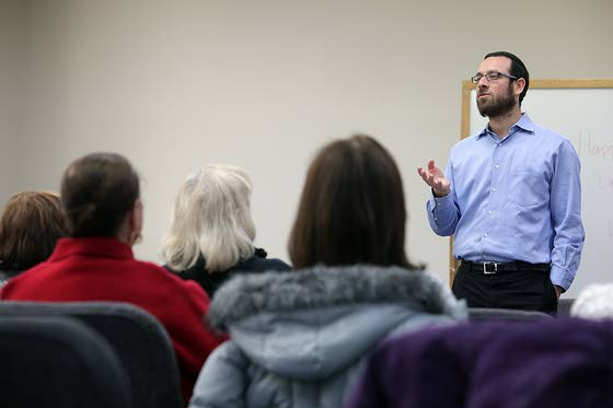 Teachings of the Torah brought  to life weekly at Linwood Library