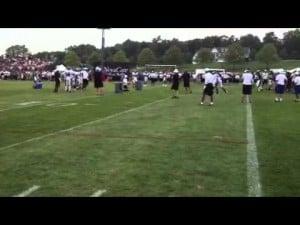Eagles training camp, Aug. 3, 2012