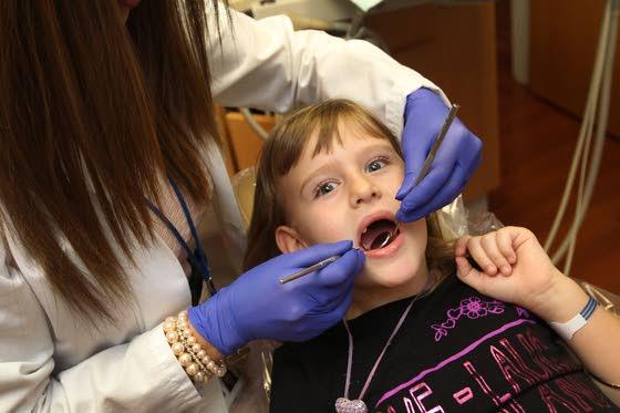 Good dental health is vital, beginning in infancy