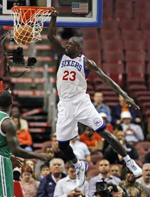 Bynum-less 76ers return home with win over Boston