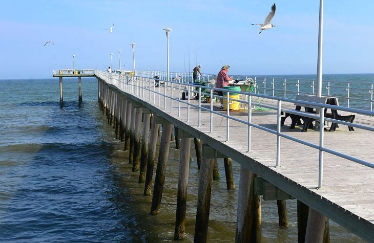 ventnor fishing pier photo galleries ForAtlantic City Fishing Pier