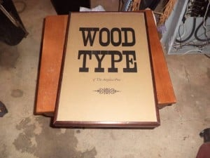 Antiques & Collectibles: Unusual case compliments wood type book set