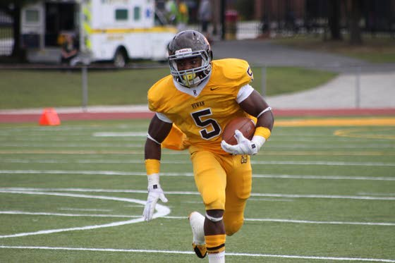 Rowan football team finds ground game from an unlikely source