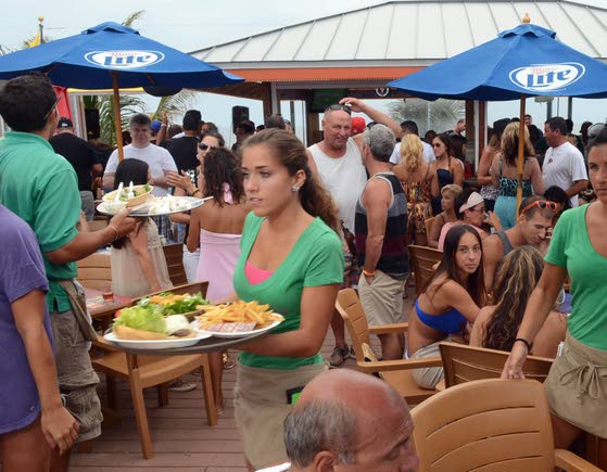 Margate gets its hot-spot beach bar at Ventura's
