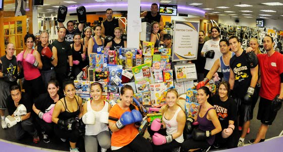 Ventnor gym trainer's free classes for toys means sweating small stuff