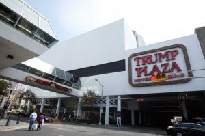 Trump Plaza Icon: Sept 3, 2011.  - Photo by Edward Lea