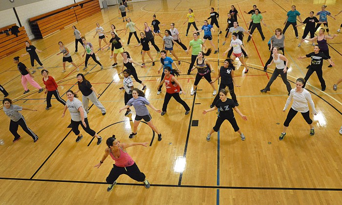 press it forward zumba