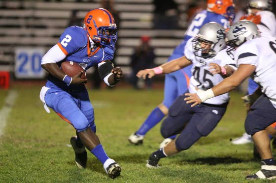 Millville football Daron Moore