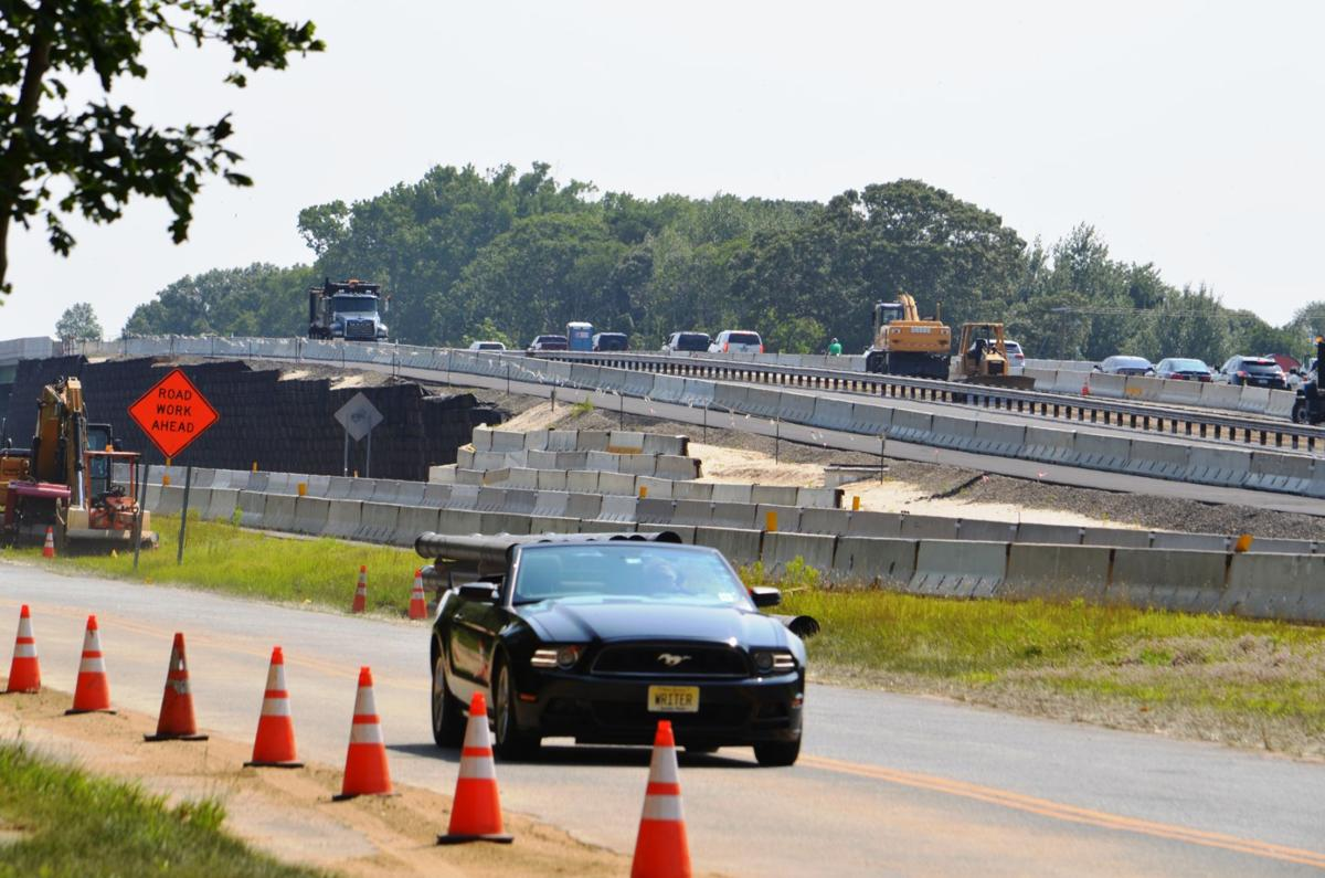 northbound parkway lanes to open over new overpasses