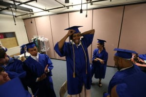 CHARTER TECH. GRADUATION: Charter-Tech High School Graduation at Tighe School Performing Arts Center in Margate Friday, June 20, 2014. - Edward Lea