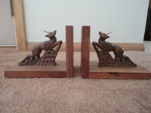 Antiques & Collectibles: Carved bookends attract Art Deco devotees