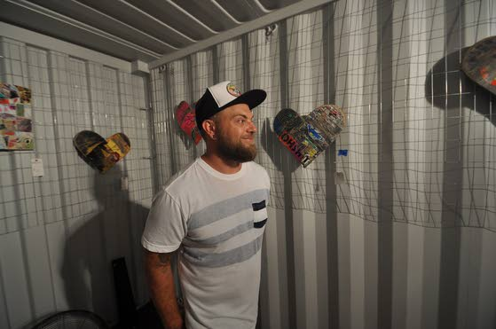 Morey's Pier uses empty artBOX space for short-term 'Skate & Recreate' exhibit