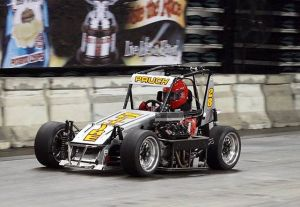 Short-track Driving Star Due For Change Of Luck In A.C.: TQ Midget racer TBilly Pauch of Frenchtown. NJ practicing for the Atlantic City Indoor Races at Boardwalk Hall Thursday, Jan 31, 2013.
