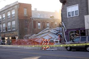 Millville's Levoy Theatre collapse