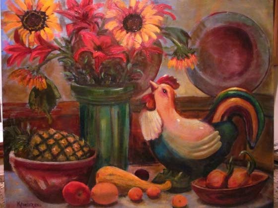 Galloway painter's works reach Hammonton gallery