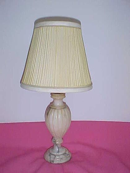Antiques & Collectibles: Alabaster lamps have timeless appeal