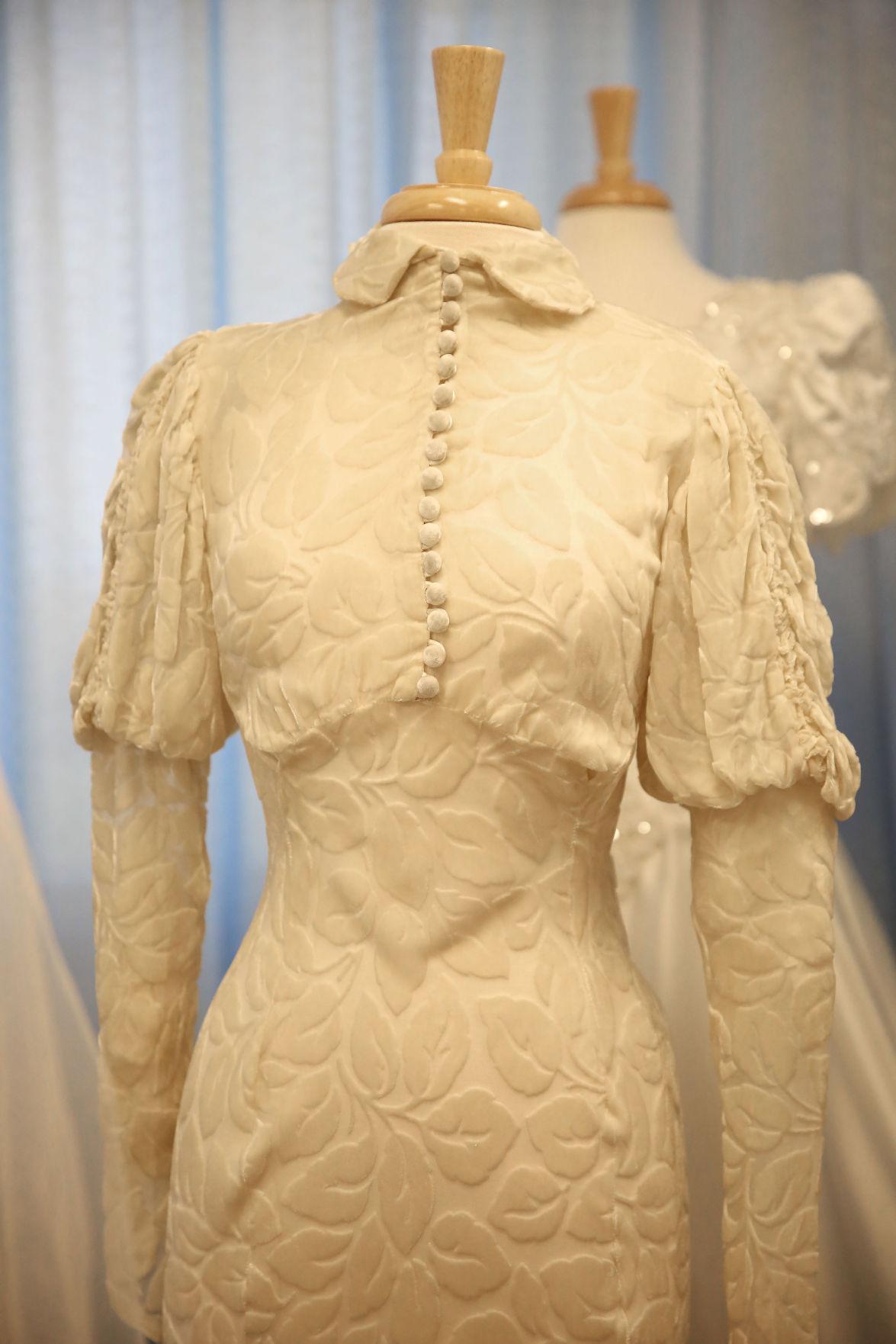 Wedding Dresses Jersey City : Staff photographer historic wedding dresses genevieve wilson s dress