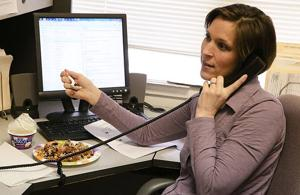 Dining at your desk
