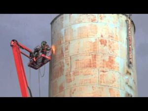 Taking Down the Ocean City Water Tower
