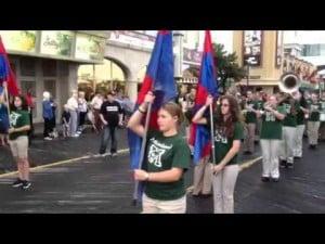 Mainland Band at Armed Forces Parade