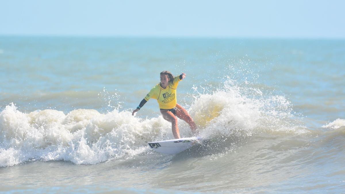 Wildwood Crest pro surfer Maddie Peterson