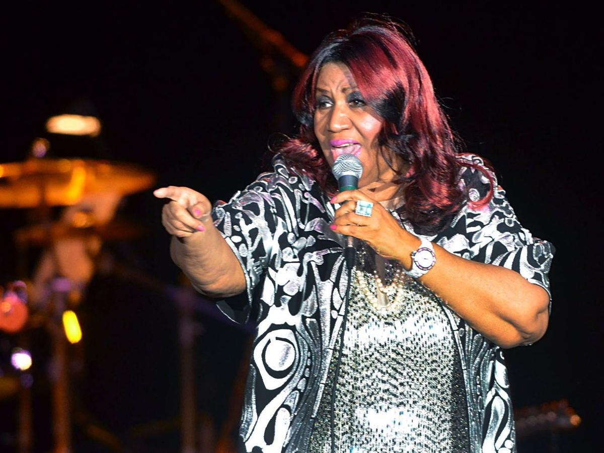 Aretha Franklin in A.C. in 2012: Franklin pleases crowd, focuses on hits from '60s, '70s