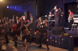 Weeks-delayed Halloween event turns into concert for a good cause