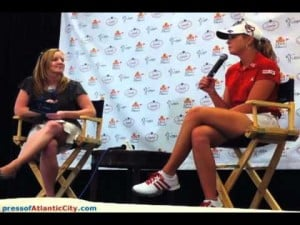 Interview with Paula Creamer: Day 1 of ShopRite Classic