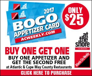 Buy Your Appetizer Card Today!