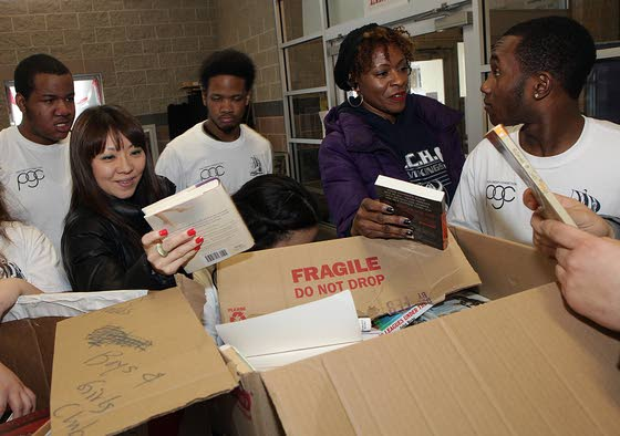 ACHS's Peer Group Connection shares books, its love of reading