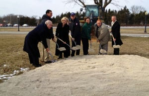Parkway lights groundbreaking