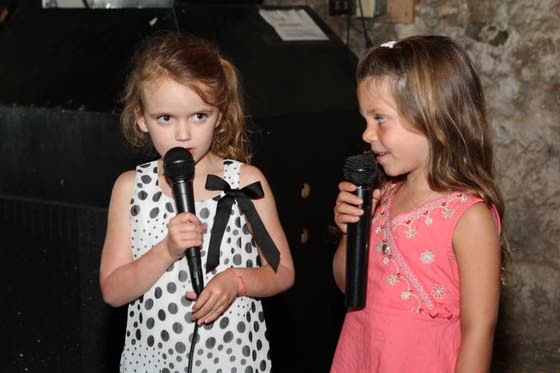 The kids are the stars at karaoke night in Cape May