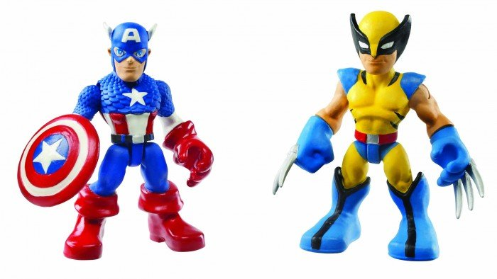 Marvel Super Hero Adventures Figure 2-pack - Captain America Wolverine.jpg
