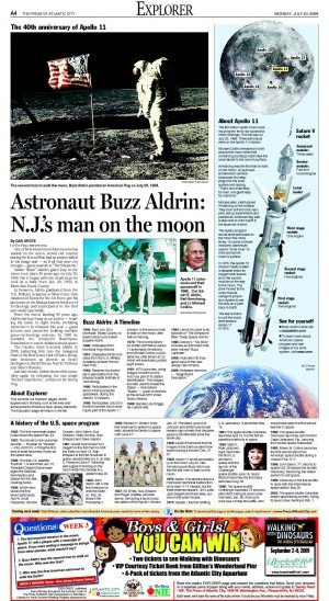 Astronaut Buzz Aldrin: New Jersey's man on the moon