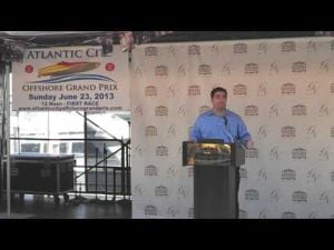 Golden Nugget's Tom Pohlman talks about the Atlantic City Grand Prix