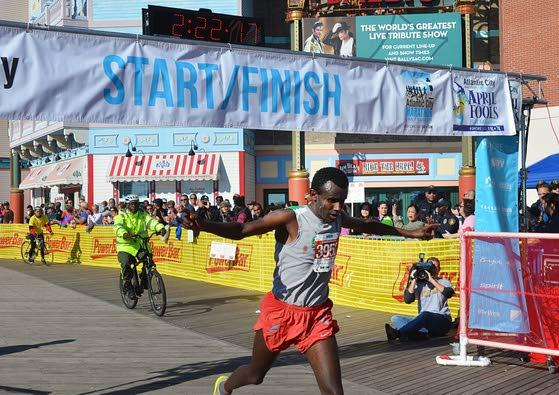 Ethiopians come long way, then go another 26.2 miles