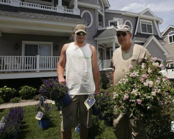 Landscape design,  care this family's growing business