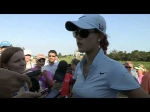 Michelle Wie's Second Round Interview at the 2013 ShopRite LPGA Classic