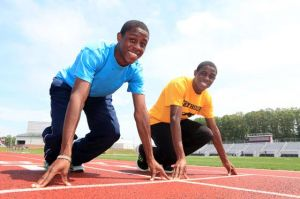Boys Track And Field All-Stars: Isaac And Jacob Clark Put Pleasantville Team On Map: Pleasantville senior twins Isaac, left, and Jacob Clark say they're each other's toughest competitor. 'Not many people get to run with their brother,' Jacob says. 'I have him to help me come back.'