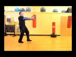 Your Workout: Walking Lunge with Medicine Ball Twist