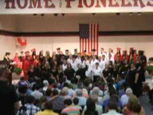 Pilgrim Academy Choir performs at 2013 graduation