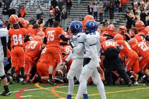 Oakcrest's surprising season ends with title-game loss to powerful Cherokee