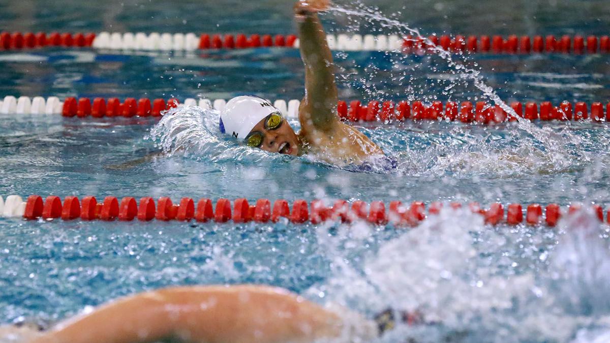 Holy Spirit vs Oakcrest swim meet